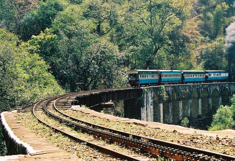 Ooty to Coonoor train journey