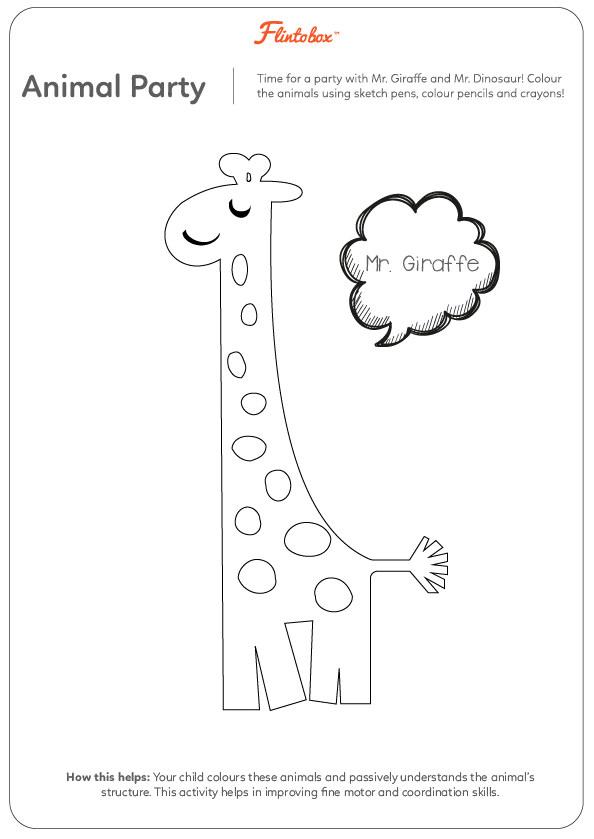 Amazing animals worksheets